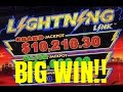 LIGHTNING LINK SLOT MACHINE BONUS-BIG WIN!