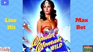 Bally - Wonder Woman (Wild) : Line Hit on Max Bet