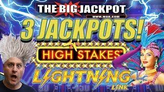 •LIGHTNING LINK HIGH STAKES! •3 JACKPOTS on RAJA'S FAVORITE GAME! •️