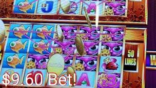 *Big Win* On $9.60 Bet*MS Kitty Gold Super Free Wonder 4 Tall Fortunes Slot Machine* Buffalo gold*