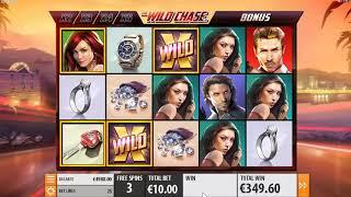 The Wild Chase slots - 647 win!
