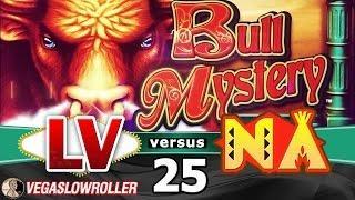 Las Vegas VS Native American Casinos Episode 25: Bull Mystery Slot Machine