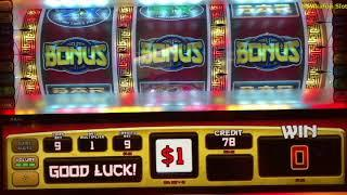 Never Give Up Part 1 • Jin Long 888 - $1 Slot Machine 9 Lines@San Manuel Casino 赤富士, アカフジ スロット, カジノ