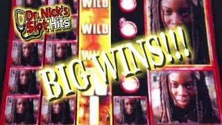 **THE PETS COME OUT TO PLAY!!!/BIG WINS!!!** Miss Kitty Gold and Walking Dead 2 Slot Machines