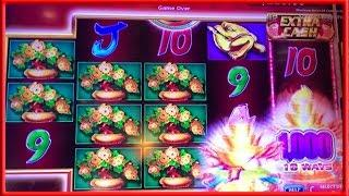 ** WIFE's BIG WIN on GOLDEN POWER INGOTS ** SLOT LOVER **