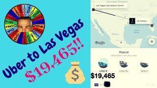 •$19,465 Uber Ride To Vegas?•