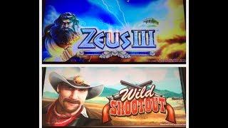 Zeus III & Wild Shootout- Awesome wins!