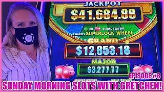 ★ Slots ★SUPERLOCK Lock It Link Piggy Bankin' Slot Machine ★ Slots ★SUNDAY MORNING SLOTS WITH GRETCH