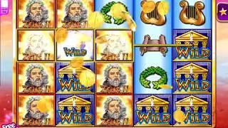 "ZEUS II Video Slot Casino Game with a ""BIG WIN"" FREE SPIN BONUS"