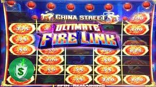 ++NEW  Ultimate Fire Link China Street slot machine, Fire Link bonus