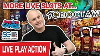 ⋆ Slots ⋆ More LIVE Coin Combo at Choctaw ⋆ Slots ⋆ Other CRAZY Scientific Games Slots
