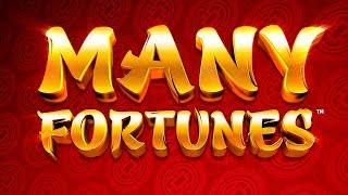 Many Fortunes Slot - NICE SESSION, ALL FEATURES!
