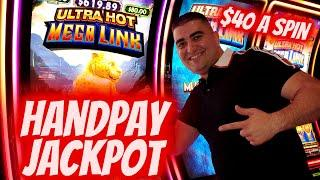 $40 A Spin ⋆ Slots ⋆HANDPAY JACKPOT⋆ Slots ⋆ On High Limit ULTRA HOT MEGA Link Slot ⋆ Slots ⋆| Slot