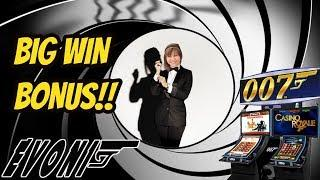 BIG WIN BONUS! JAMES BOND THUNDERBALL