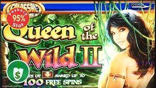 Queen of the Wild II 95% payback slot machine, bonus