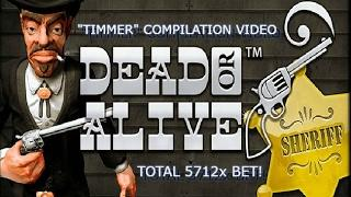 """""""Timmer's"""" Dead Or Alive Compilation - Total 5712x BET WIN!"""
