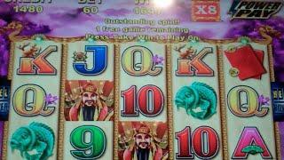 Choy Sun Returns Slot Machine Bonus - 20 Free Games with Wild Multiplier - Nice Win (#2)