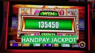 Buffalo Gold Slot Machine Bonus $12 Bet •HANDPAY JACKPOT•  !!! Max Bet Live Play •HUGE WIN •