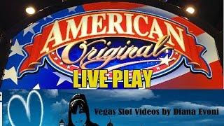 American Original Slot Machine Bonus-Live play