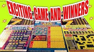 "CRACKING SCRATCHCARD GAME """"JEWEL SMASH""""CASHWORD MULTIPLIER """"GOLD 7s""WIN ALL""SPIN £100""BINGO BONUS"