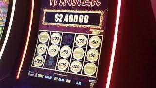 •BIG WIN• DRAGON FURY Slot Machine Bonus WON !$50 Bet DRAGON LINK HANDPAY JACKPOT(Neighbor hit HP)