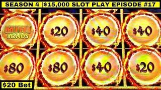High Limit Dragon Link Slot Machine Bonuses & BIG WIN | Season 4 | Episode #17