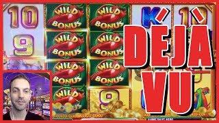 • • DEJA VU Live Slot Play at Cosmopolitan Casino • Slot Machine Pokies w Brian Christopher