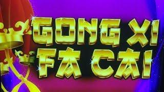 Gong Xi Fa Cai - IGT - Max Bet - Big Win Bonus!!!
