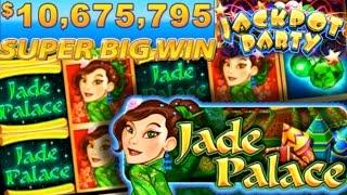 •JACKPOT PARTY CASINO FRIDAY• JADE PALACE (SG/WMS) •GAME REVIEW!•