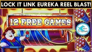 *NEW* LOCK IT LINK EUREKA SLOT MACHINE - Winning on all Denominations!