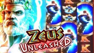 •• Zeus Unleashed The Big Win Bonus! ••  Live Play $3 Slot Casino Winner!