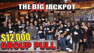 • HUGE TURNOUT! • $12,000 GROUP PULL @ Hard Rock Casino in Las Vegas