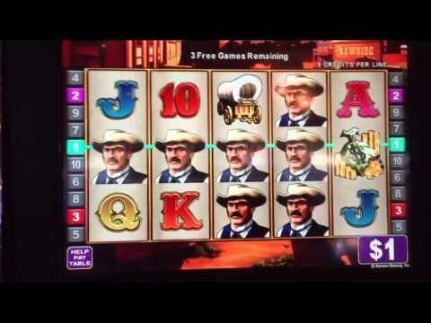 Rawhide Slot Machine JACKPOT #2
