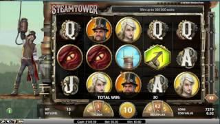 Steam Tower Slot Spins - SUPER WIN IN THE Free Spins Bonus!