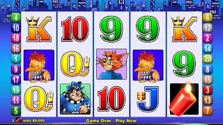 MR CASHMAN JAILBIRD Video Slot Casino Game with a STARS BONUS