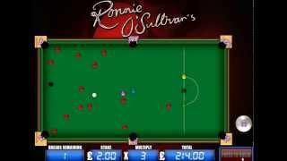 Mazooma Ronnie O' Sullivan's Big Break Feature Fruit Machine Video Slot