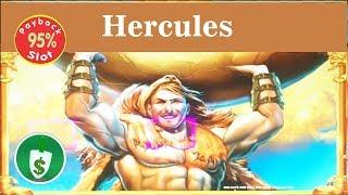 Hecules 95% payback slot machine, bonus