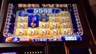 Pirate Ship-WMS slot machine bonus win with retrigger!