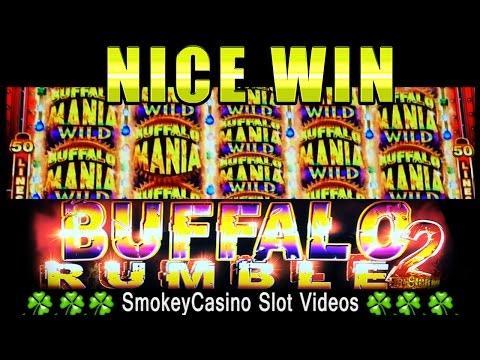 BUFFALO RUMBLE 2 Slot Machine NICE WIN - Ainsworth