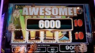 Temple of the Tiger Slot Machine Bonus - 18 Free Games - BIG WIN (#2)