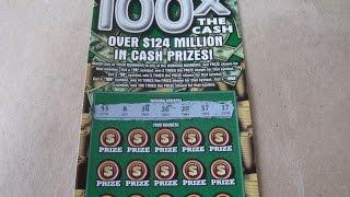 WINNER - 100X the Cash - $20 Illinois Instant Lottery Scratch Off Ticket Video