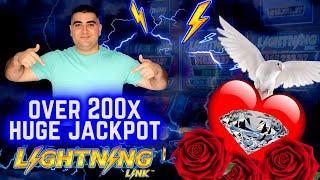 OVER 200x ⋆ Slots ⋆HUGE HANDPAY JACKPOT⋆ Slots ⋆ On High Limit Lightning Link Slot | JACKPOT WINNER |SE-11 | EP-22