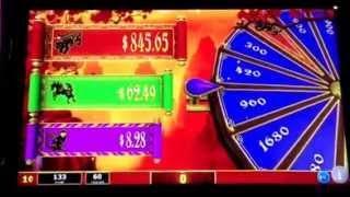 Dragon's Temple Slot Machine Zodiac Progressive Bonus #2 New York Casino Las Vegas