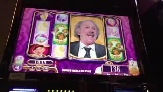 Willy Wonka Slot Machine - 10 Grandpa Spins ~ Thumbs Down! • DJ BIZICK'S SLOT CHANNEL
