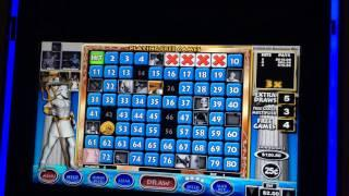 Ancient Thunder Keno Slot Machine - Poseidon Bonus - Big Win!!!