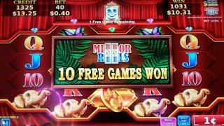 Jungle Fury Slot Machine Bonus + Retrigger - Mirror Reels Feature - 20 Free Games, Nice Win (#3)