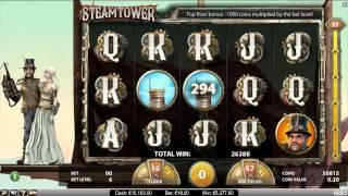 Steam Tower NetEnt Promotional Video