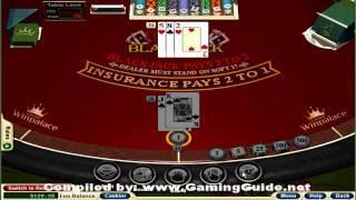 European Blackjack Table Game