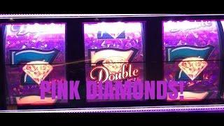 HIGH LIMIT-PINK DIAMONDS SLOT MACHINE-LIVE PLAY