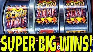 I'M IN THE WILD ZONE, BABY!  SUPER BIG WINS
